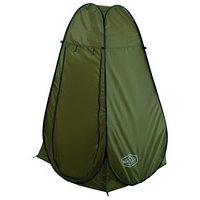 Палатка туристическая, самораскрывающаяся, для душа, 120 х 120 х 195 см, цвет зелёный