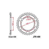 Звезда ведомая JT sprockets JTR499-42