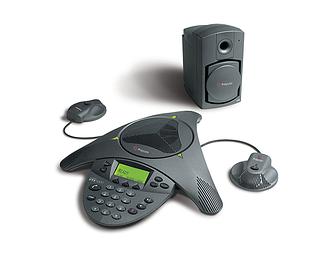 Аудиоконференция Polycom SoundStation VTX 1000 аналоговый конференц телефон