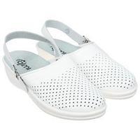 Туфли сабо женские 'Маша', цвет белый, размер 39