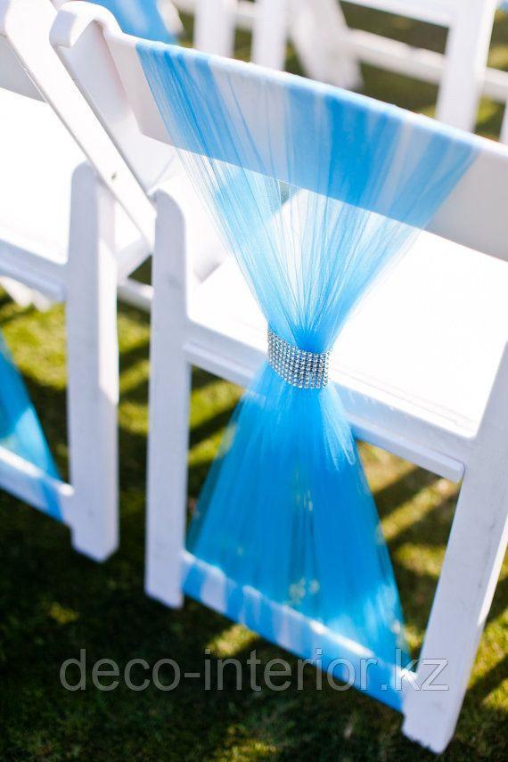 Чехлы на стулья гипюровые - фото 5