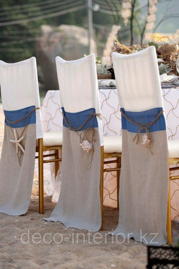 Чехлы на стулья гипюровые - фото 3