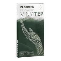 Перчатки одноразовые VINYLTEP, прозрачные, размер S, 100 шт