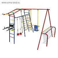 Детский спортивный комплекс уличный «Игромания-7 Атлет» КМС-407, 2700 × 3100 × 2200 мм