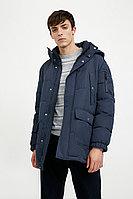 Полупальто мужское Finn Flare, цвет темно-синий, размер S