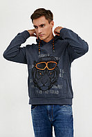 Джемпер мужской Finn Flare, цвет синий, размер 3XL