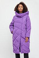 Пальто женское Finn Flare, цвет сиреневый, размер 4XL