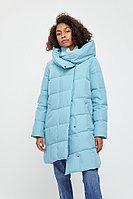 Пальто женское Finn Flare, цвет светло-бирюзовый, размер 4XL