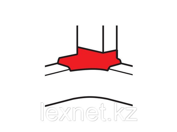 Угловой отвод для кабель-канала 80х35/80х50, фото 2