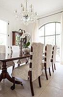 Чехлы на стулья из натуральных тканей