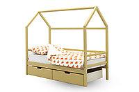 Детская кровать домик «Svogen бежевый»