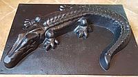 Формы для декоративных, садовых иделий ,крокодил