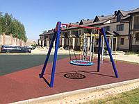 Площадка с резиновым покрытием 150 м2 (толщина покрытия 1 см)