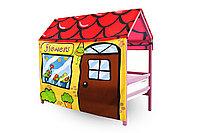 Игровая накидка для кровати-домика Svogen «Цветочный домик»