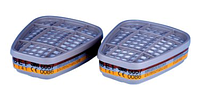 Комбинированный фильтр от газов и паров модель 6057 класс защиты ABE1