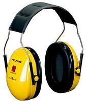 Наушники 3M Peltor Optime I, 27 дБ, желтые, с верхним оголовьем, H510A-401-GU
