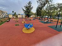 Площадка с резиновым покрытием 250 м2 (толщина покрытия 1,2 см)