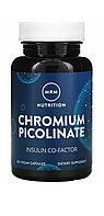 Хром пиколинат. Chromium Picolinate 200 мг  100 капсул. MRM