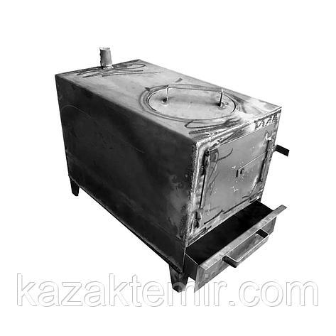 """Печь """"Дакан"""" на 100 кв.м на твердом топливе (дрова,уголь), фото 2"""