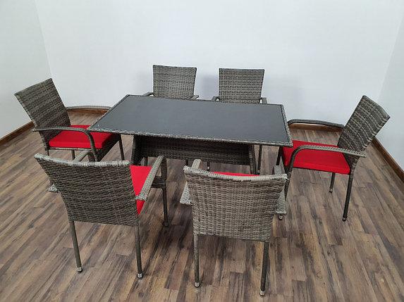 """Обеденная группа на 6 персон """"Брисбен"""" мебели-стулья, фото 2"""