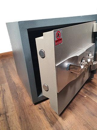 Сейф огнестойкий K3-400SS (40X45X40см, 75кг.), фото 2