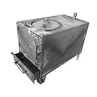 """Угольный котел-печь на твердом топливе """"Стандарт"""" 150 кв.м (15 кВт)"""