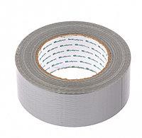 Армированная лента клейкая серебро 48 мм x 50 м Сибртех 88889 (002)