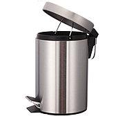 Педальная урна 12 литров (хром), фото 1