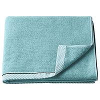 Банное полотенце ВИКФЬЕРД голубой 70x140 см ИКЕА, IKEA, фото 1