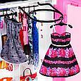 """Barbie """"Игра с модой"""" Игровой набор шкаф чемодан с куклой Барби и аксессуарами, фото 5"""