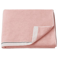 Полотенце ВИКФЬЕРД светло-розовый 70x140 см ИКЕА, IKEA