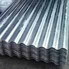 Шифер плоский оцинкованный серый металлошифер 0.8 мм