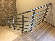 Поручни для лестниц стальные