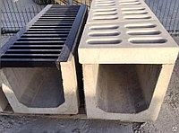 Решетки водоприемные композитный желоба волнистая серые B