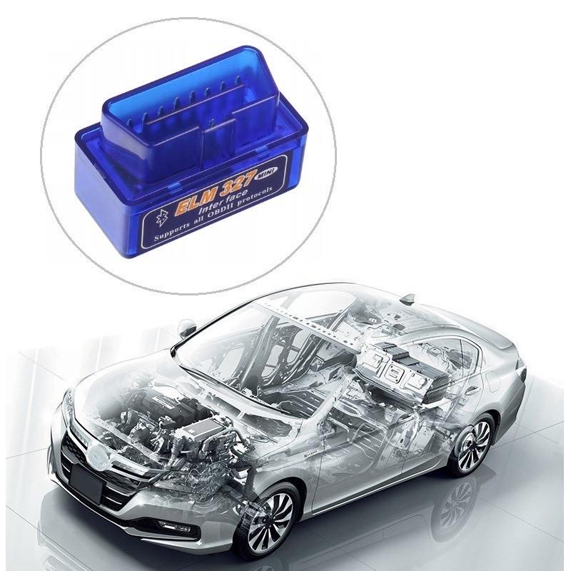 Автомобильный диагностический сканер ELM327 OBDII Bluetooth.
