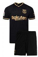 Футбольная форма ФК Барселона 2020-2021 гостевая  Взрослая (комплект футболка+шорты)