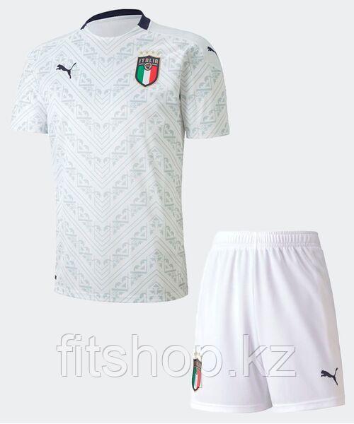 Форма Италии 2020/21 - гостевая Взрослая (комплект футболка+шорты)