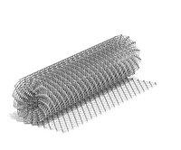 Сетка рабица для заборов и других сооружений Ф1.8 1.5х10 яч 50х50 мм