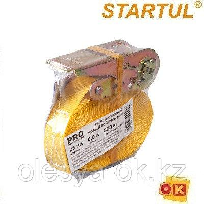 Ремень стяжной кольцевой 0,8т, 6м PRO STARTUL (багажный)