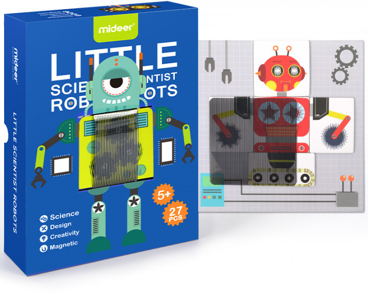 Игра анимированный робот MD1030