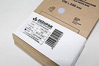 Крафт-пакеты DEZUPAK для стерилизации и хранения инструментов, 100х200 мм, с индикатором, 100 шт.