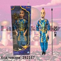 """Детская кукла """"Джин"""" (Аладдин) в картонной упаковке 30 см"""