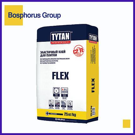 """Клей эластичный для плитки Tytan""""Flex"""", 25кг (для плиток  30x30см/40x40см/60x60см), фото 2"""