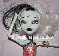 """Кукла для девочек ФРЕНКИ ШТЕЙН """"Монстер хай"""" 26 см в серебристо черном платье"""