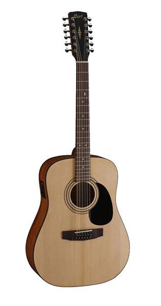 AD810-12E-OP Standard Series Электро-акустическая гитара, 12-струнная, цвет натуральный, Cort