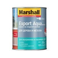 Эмаль Полуматовая MARSHALL EXPORT AQUA ENAMEL 0,8л.