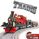 """Конструктор аналог Лего LEGO Ausini """"Старинный Грузовой поезд"""" 25705, фото 2"""
