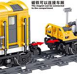 Конструктор аналог лего Lego 7939 QL0308 Железная дорога: Грузовой Поезд, 431 дет., фото 5