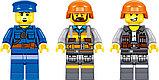 Конструктор аналог лего Lego 7939 QL0308 Железная дорога: Грузовой Поезд, 431 дет., фото 6