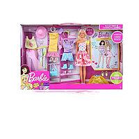 Игрушка игровой набор кукла Барби с комплектом одежды. Оригинал!